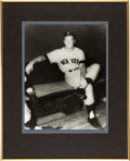 """Baseball Collectibles:Photos, Mickey Mantle """"1956"""" Signed Oversized Photograph...."""