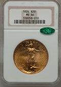 Saint-Gaudens Double Eagles, 1924 $20 MS66 NGC. CAC....