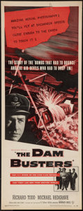 "Movie Posters:War, The Dam Busters (Warner Brothers, 1955). Insert (14"" X 36""). War....."