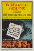 "Movie Posters:Mystery, The List of Adrian Messenger & Other Lot (Universal, 1963). One Sheets (2) (27"" X 39.5"" & 27"" X 41"") & Insert (14"" X 36""). M... (Total: 3 Items)"