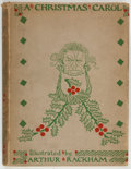 Books:Color-Plate Books, [Arthur Rackham, illustrator]. Charles Dickens. A ChristmasCarol. London: William Heinemann, 1915. First editio...