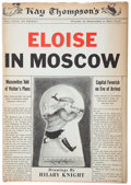 Books:Children's Books, Kay Thompson. Eloise in Moscow. Drawings by Hilary Knight. New York: 1959. First edition. Signed by Knight....