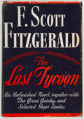 Books:Literature 1900-up, F. Scott Fitzgerald. The Last Tycoon. New York: Scribner's,1941. First edition....