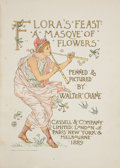 Books:Literature Pre-1900, Walter Crane. Flora's Feast. A Masque of Flowers.London: Cassell & Company, 1889. First edition....
