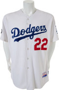 Baseball Collectibles:Uniforms, 2011 Clayton Kershaw Game Worn Los Angeles Dodgers Jersey....