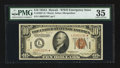 Small Size:World War II Emergency Notes, Fr. 2303* $10 1934A Hawaii Federal Reserve Note. PMG Choice Very Fine 35.. ...