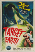 """Movie Posters:Science Fiction, Target Earth (Allied Artists, 1954). One Sheet (27"""" X 41""""). ScienceFiction.. ..."""