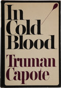 Books:Literature 1900-up, Truman Capote. In Cold Blood. A True Account of aMultiple Murder and Its Consequences. New York: Random House,...