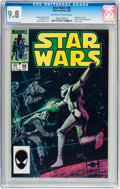 Modern Age (1980-Present):Science Fiction, Star Wars #98 (Marvel, 1985) CGC NM/MT 9.8 Off-white to whitepages....