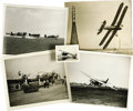 """Transportation:Aviation, Vintage Aviation Photograph Archive. Over a 100 mainly 10"""" x 8"""" black-and-white professional photographs of aircraft and rel... (Total: 100 Item)"""