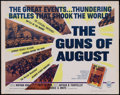 "Movie Posters:Documentary, The Guns of August (Universal, 1965). Half Sheet (22"" X 28""). Documentary. ..."
