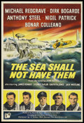 """Movie Posters:War, The Sea Shall Not Have Them (United Artists, 1954). British OneSheet (27"""" X 40""""). War. ..."""
