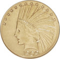 Indian Eagles: , 1909-S $10 XF45 NGC. NGC Census: (15/336). PCGS Population(21/345). Mintage: 292,350. Numismedia Wsl. Price: $451. (#8864)...