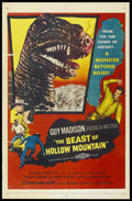 "Movie Posters:Science Fiction, The Beast of Hollow Mountain (United Artists, 1956). One Sheet (27""X 41""). Science Fiction. ..."