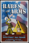 "Movie Posters:Animated, Babes in Arms (Disney/Maroon, 1988). One Sheet (27"" X 41""). Animated. ..."