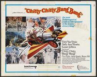 "Chitty Chitty Bang Bang (United Artists, 1968). Half Sheet (22"" X 28""). Fantasy"