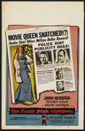 """Movie Posters:Comedy, The Fuzzy Pink Nightgown (United Artists, 1957). Window Card (14"""" X 22""""). Comedy. ..."""