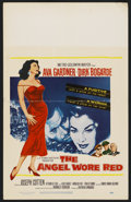 "Movie Posters:War, The Angel Wore Red (MGM, 1960). Window Card (14"" X 22""). War. ..."