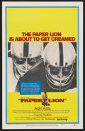 "Movie Posters:Sports, Paper Lion (United Artists, 1968). Window Card (14"" X 22""). Comedy. ..."