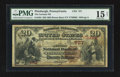 National Bank Notes:Pennsylvania, Pittsburgh, PA - $20 1882 Brown Back Fr. 494 The German NB Ch. #757. ...