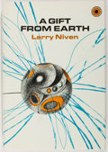 Books:Science Fiction & Fantasy, [Jerry Weist]. Larry Niven. SIGNED. A Gift from Earth. Walker, 1968. First American edition, first printing. Signe...