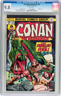 Bronze Age (1970-1979):Superhero, Conan the Barbarian #50 (Marvel, 1975) CGC NM/MT 9.8 Whitepages....