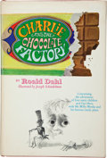 Books:Children's Books, Roald Dahl. Charlie and the Chocolate Factory. New York:Alfred A. Knopf, [1964]. Later edition (with the five-line ...