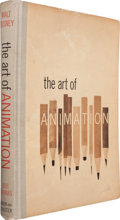 Books:Art & Architecture, [Douglas Fairbanks, Jr.'s Copy]. [Walt Disney]. Bob Thomas. TheArt of Animation: The Story of the Disney Studio C...