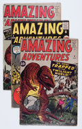 Silver Age (1956-1969):Science Fiction, Amazing Adventures #3-6 Group (Marvel, 1961) Condition: AverageVG-.... (Total: 4 Comic Books)