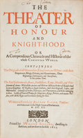 Books:World History, Andrew Favine. The Theater of Honour and Knight-Hood. Or aCompendious Chronicle and Historie of the Whole ChristianWor...