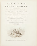 Books:Natural History Books & Prints, John [Johann] Caspar Lavater. Essays on Physiognomy. Designed to Promote the Knowledge and the Love of Mankind. Il... (Total: 5 Items)