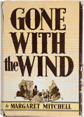 "Books:Literature 1900-up, Margaret Mitchell. Gone with the Wind. New York: TheMacmillan Company, 1936. First edition, first printing, with ""P..."