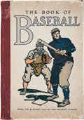 Books:Sporting Books, William Patten and J. Walker McSpadden. The Book of Baseball.The National Game From the Earliest Days to the Present Se...