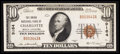 National Bank Notes:North Carolina, Charlotte, NC - $10 1929 Ty. 1 The Union NB Ch. # 9164. ...