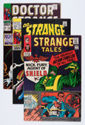 Golden Age (1938-1955):Horror, Strange Tales/Dr. Strange Group (Marvel, 1964-74) Condition:Average FN+.... (Total: 11 Comic Books)
