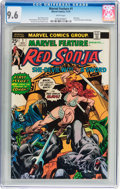 Bronze Age (1970-1979):Adventure, Marvel Feature (2nd Series) Red Sonja #1 (Marvel, 1975) CGC NM+ 9.6 White pages....