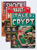 Golden Age (1938-1955):Miscellaneous, EC Comics Group (EC, 1950s-'90s).... (Total: 6 Comic Books)
