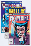 Modern Age (1980-Present):Superhero, Wolverine (Limited Series) #1-4 Plus Group (Marvel, 1982-88)Condition: Average NM-.... (Total: 11 Comic Books)
