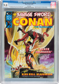 Magazines:Adventure, Savage Sword of Conan #2 (Marvel, 1974) CGC NM/MT 9.8 White pages....