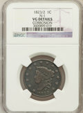Large Cents, 1823/2 1C -- Corrosion -- NGC Details. VG. N-1. NGC Census: (8/49).PCGS Population (11/85). Mintage: 1,262,000. Numismedia...
