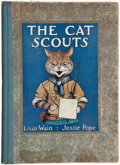 Books:Children's Books, Louis Wain [illustrator]. Jessie Pope. The Cat Scouts. NewYork: [ca. 1912]....