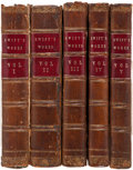 Books:Literature Pre-1900, Jonathan Swift. The Works of Jonathan Swift. London: Bathurst, et al., 1755-1765. First Hawkesworth edition. Six... (Total: 16 Items)