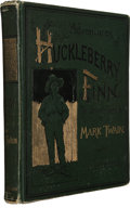 Books:Literature Pre-1900, Mark Twain. Adventures of Huckleberry Finn (Tom Sawyer'sComrade). With One Hundred and Seventy-Four Illustrations. ...