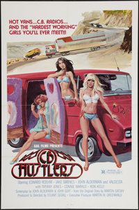 "C.B. Hustlers and Other Lot (Gail Film, 1978). One Sheets (2) (27"" X 41"" & 28"" X 42""). Sexpl..."