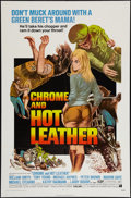 """Movie Posters:Exploitation, Chrome and Hot Leather (American International, 1971). One Sheet(27"""" X 41""""). Exploitation.. ..."""