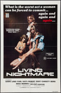 """Movie Posters:Exploitation, Nazi Love Camp 27 and Other Lot (Group 1, R-1979). One Sheets (2)(27"""" X 41""""). Exploitation. Reissued as Living Nightmare...(Total: 2 Items)"""