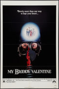 "Movie Posters:Horror, My Bloody Valentine & Other Lot (Paramount, 1981). One Sheets (2) (27"" X 41""). Horror.. ... (Total: 2 Items)"
