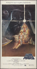 "Movie Posters:Science Fiction, Star Wars (20th Century Fox, 1977). International Three Sheet (41""X 81"") Style A Flat Folded. Science Fiction.. ..."