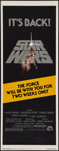 "Movie Posters:Science Fiction, Star Wars (20th Century Fox, R-1981). Insert (14"" X 36""). ScienceFiction.. ..."