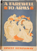 Books:Literature 1900-up, Ernest Hemingway. A Farewell to Arms. New York: Charles Scribner's Sons, 1929. First trade edition, second printing...